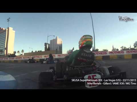 Las Vegas onboard Mike Bartels during SKUSA Supernationals XIX