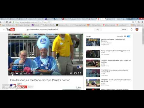 Rigged Game 5 2015 World Series Pope Francis Queen Elizabeth