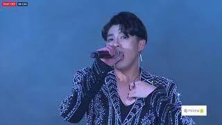 """Noo Phước Thịnh hát trên phố đi bộ Hồ Gươm đêm nhạc """"kết nối triệu tâm hồn"""" viettel"""