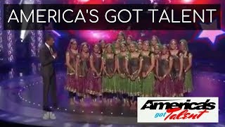 Kruti Dance Academy on America's Got Talent Wild Card Show!