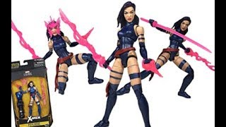 Marvel Legends Psylocke X-Men Series (Apocalypse BAF Wave) Figure Review