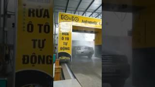 Rửa xe oto bán tự động TP TDM Bình Dương