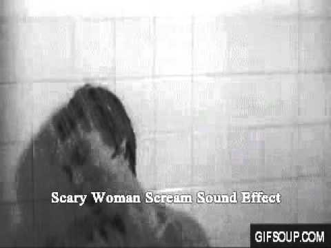 Scary Woman Scream Sound Effect video
