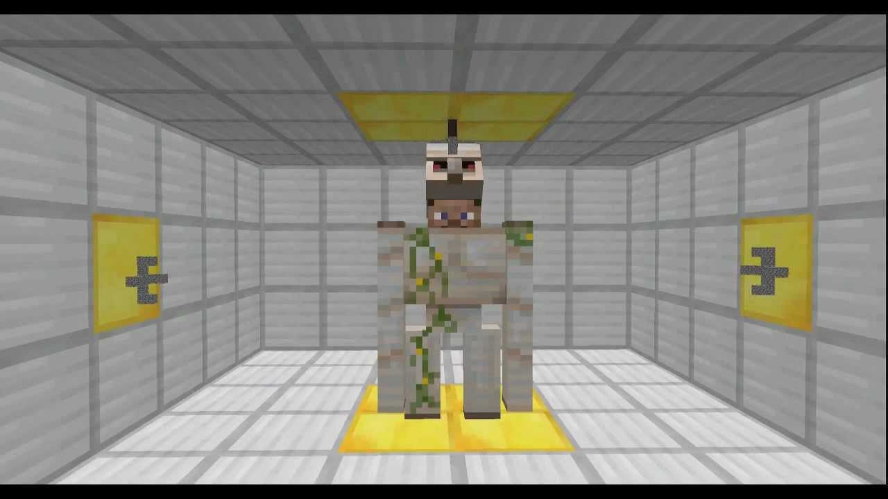 how to make an iron golem love you
