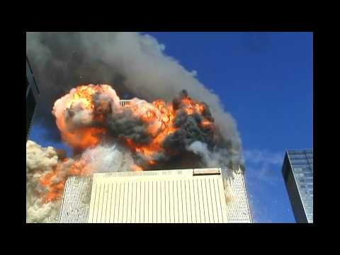 HD Impact and explosions at WTC 2 ~ CGI or Plane? G%