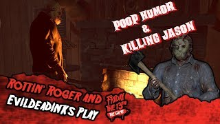 Friday The 13th Game Play: Poop Humor & Killing Jason