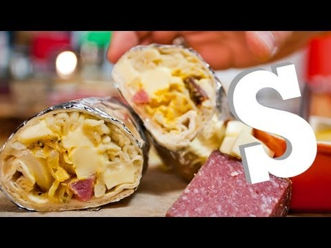 GERMAN BURRITO RECIPE ft. Dave Days - SORTED