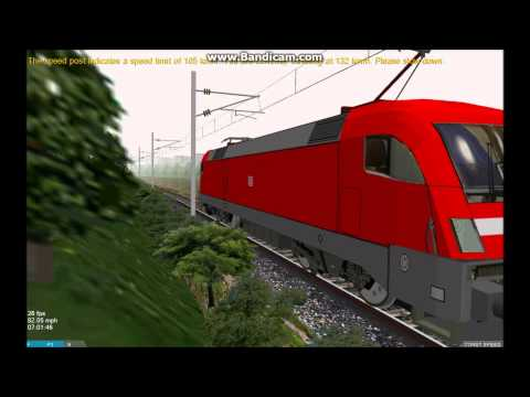 OpenBVE HD EXCLUSIVE: Venice Simplon Orient Express By Alejandro Melo (Siemens Taurus Locomotives)