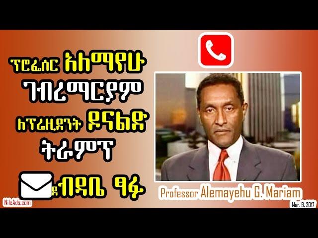 Professor Alemayehu G. Mariam - VOA