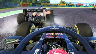 WTF WAS HE DOING?! TRAFFIC AT HUNGARY - F1 2018 Career Mode Part 117
