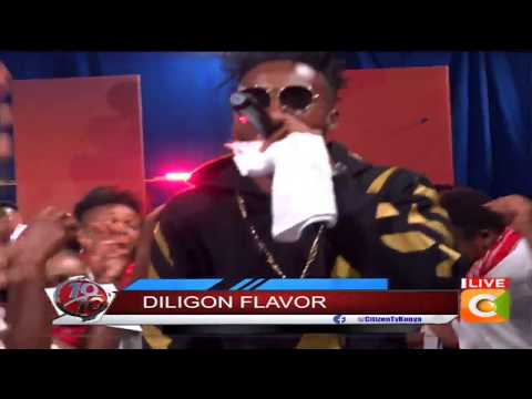 Dufla Diligon A-lister performance on stage #10Over10