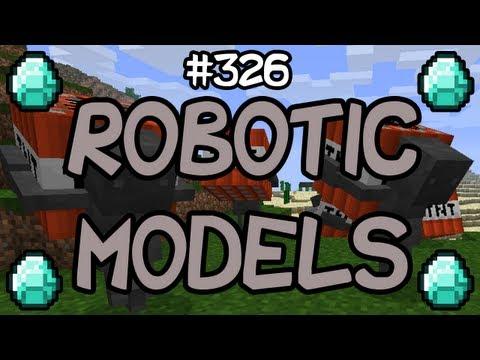 Minecraft Mods - ROBOTIC MOB MODELS MOD! [1.4.2]