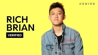 Rich Brian 34 History 34 Official Meaning Verified