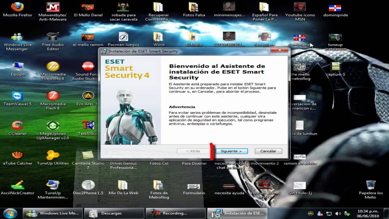 Descargar ESET Smart Security 4.2.40.10.
