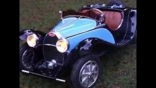 Bugatti type 55 Roadster d'enfant à l'échelle 1/2