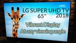 2018 LG SUPER UHD TV | Nano Cell Display | True Colors at ALL Angles
