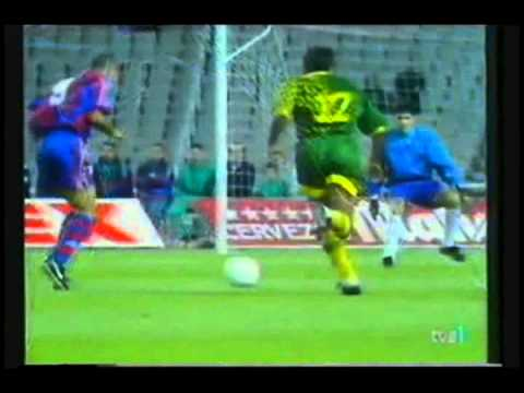 Ronaldo Lima on Robert Prosinecki   Ronaldo  Fc Barcelona  Vs Aek Larnaca 1996 1997