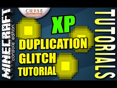 Minecraft PS4 - XP DUPLICATION GLITCH - How To - Tutorial ( PS3 / XBOX )
