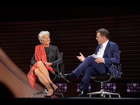 "Christine Lagarde: ""We can take off the crocodile skin"""