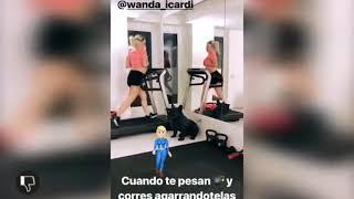 El video que Icardi le dedicó a Wanda