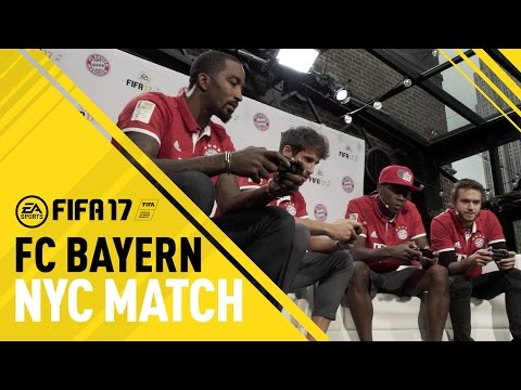 FIFA 17 - FC Bayern in NYC - ft. J.R. Smith, Zedd, David Alaba, Javi Martinez