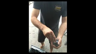 Replacing Lock on a GSA Container | Advanced Security Safe and Lock