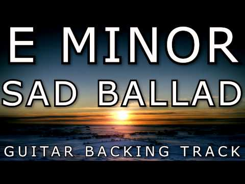 Tore Fagerheim - E Minor 80s Power Ballad Guitar Backing Track