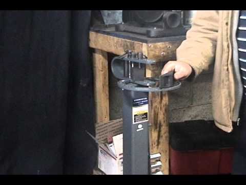 Demonstrating A Compact Floor Bender from Harbor Freight.avi