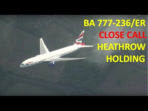 Air-to-Air Footage | British Airways | Boeing 777-236ER Seen from 747-436 | HD |