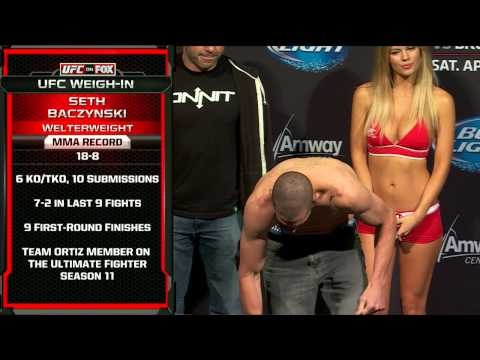 UFC on FOX 11: Official Weigh-In
