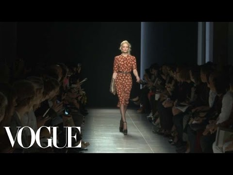 Bottega Veneta Ready to Wear 2013 Vogue Fashion Week Runway Show