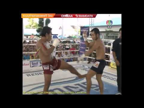 Myanmar Lethwei    (blue)  VS  Sankom  (Muay  Thai)  (red) ..2013