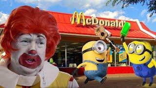 McDonalds Drive Thru Prank!    Ronald McDonald's surprise visit to Jai Bista Show