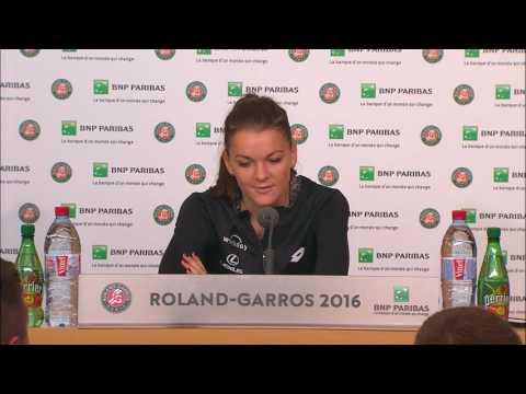 French Open 2016: Agnieszka Radwanska Round 4 Post Match Interview