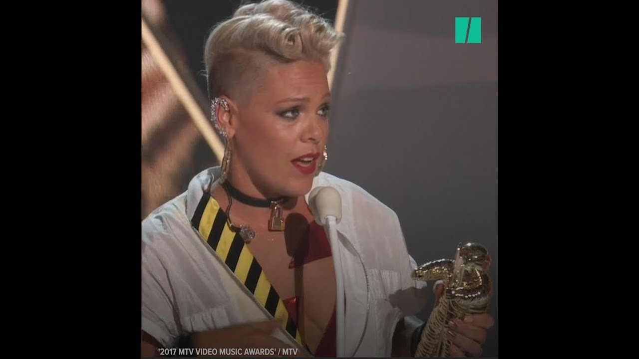 Pink Rocks Feminism At The VMAs