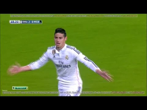 James Rodriguez vs Malaga Home  (18/04/2015) HD 720p by James10i