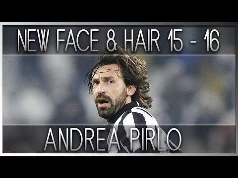 PES 2013 | New face & hair • ANDREA PIRLO • 2015 / 2016