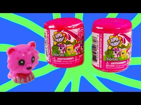 My Little Pony Fashem Mystery Surprise Blind Bag MLP Toy Opening REview Squishy Stretchy