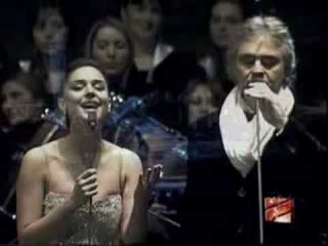 Andrea Bocelli and Sofia Nizharadze - The Prayer