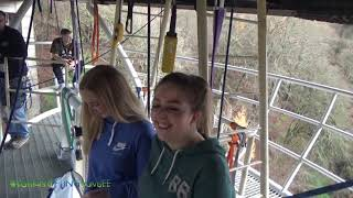 Eilidh & Hannah's sponsored bungee jump!