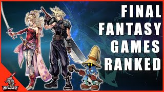 Ranking All Mainline Final Fantasy Games