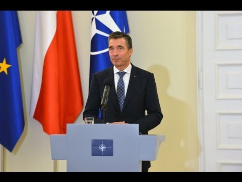 NATO Secretary General with President of Poland - Joint Press Meeting