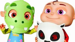 Five Little Babies Wearing Mask | Five Little Babies Collection | Zool Babies Fun Songs