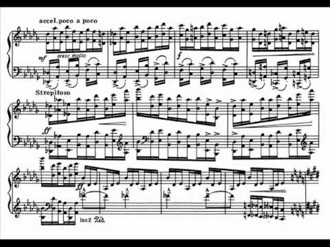 Дебюсси Клод - Complete Piano Works Etudes Этюды Этюд №5