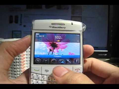 Tampilan Antar Muka BlackBerry Onyx II