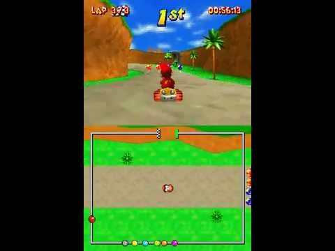 Diddy Kong Racing Characters Diddy Kong Racing ds Nds
