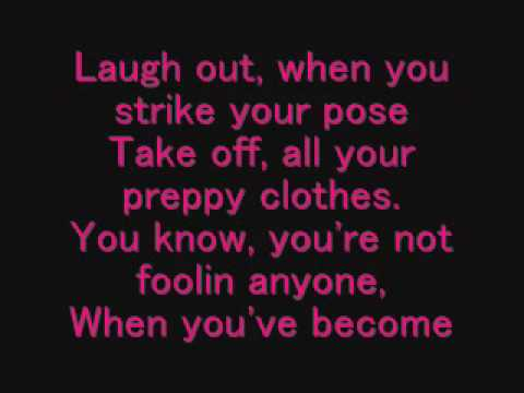 Avril Lavigne - Complicated Lyrics Music Videos