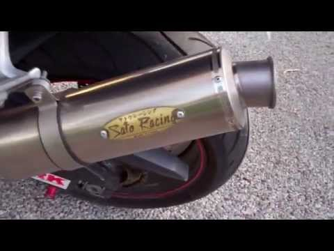 RC51 with Sato Exhaust SWEET SOUND