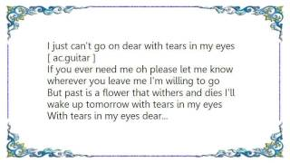 Watch Ernest Tubb With Tears In My Eyes video