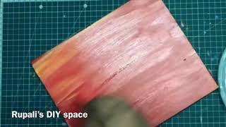 How to make a professional looking painting easily | Acrylic Painting | wall art DIY